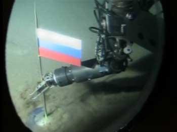 Этот российский триколор на дне Северного ледовитого океана вызвал бурную реакцию в среде политиков.