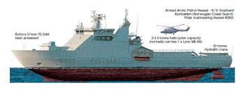 В Канаде спроектирован специальный боевой ледокол для защиты арктических интересов.